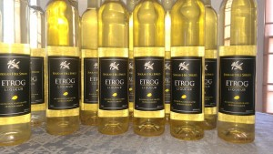 etrog liqueur production