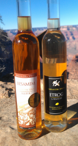 bottles at the grand canyon