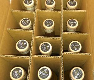etrog liqueur batch 7306a in the case