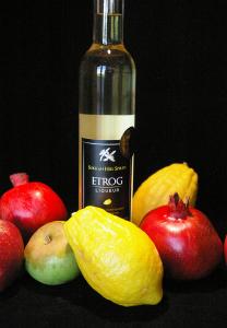 etrog liqueur with fruit 2
