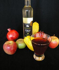 etrog pomegranate cocktail 2