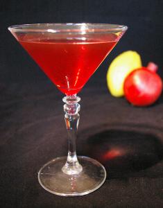etrog pomegranate cocktail